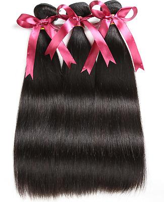 BRAZILIAN REMY HAIR ----3 PAQUETS 14 pouces ----extension-tissage 100% NATUREL