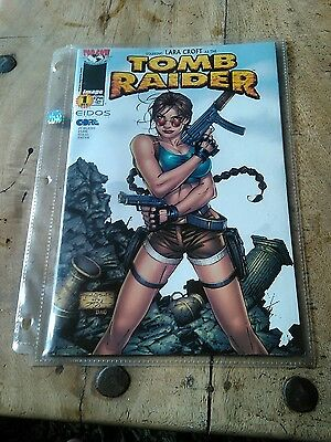 Tomb Raider Comic Top Cow First Print Unread Sealed