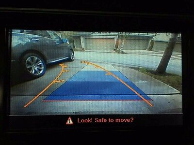 A4 Q5 A5 Audi non MMI concert radio Car Rear view Camera system Interface kits