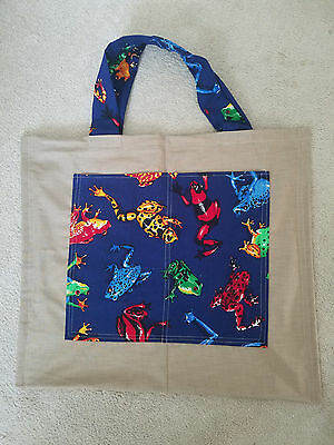 DoughDough Bags High Quality, Reusable, Hand Crafted, Made in USA Shopping Bag