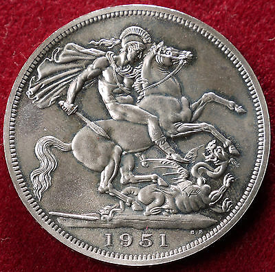 GB Festival of Britain Crown 1951 (Choose Red or Green box)