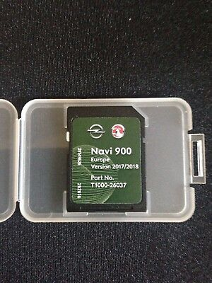 Latest Original Vauxhall/opel/chevrolet Navigation Sd Card 2017 Navi 600/900 Map