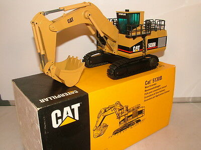 NZG No 391/1 is the rare model of the Cat 5130B Backhoe excavator VNMB