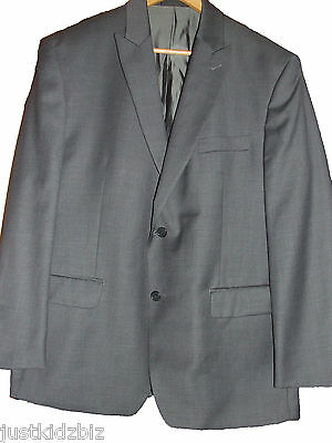 ~CALVIN KLEIN~ Mens Grey Suit Jacket - Size 44S - Immaculate Condition