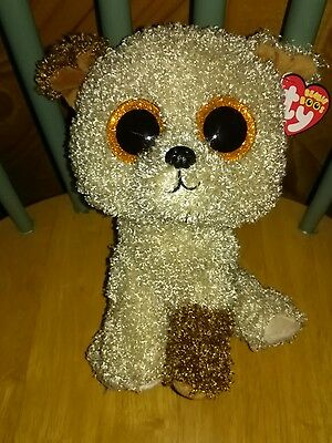 """TY Beanie Boo Rootbeer - medium size 9"""" boo rare and retired!"""