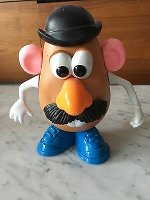 mr potato head with a lot of pieces