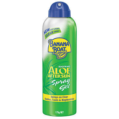 => Banana Boat Aloe Aftersun Clear Spray 175G