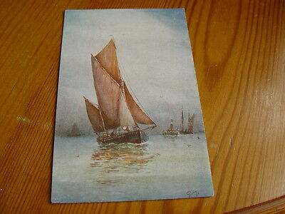 TPT069 - Postcard - Painting of Sailing Boat