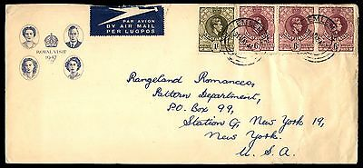 Swaziland Emlembe Royal Visit 1947 Commemorative Cover