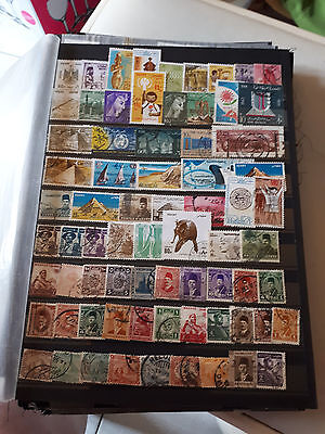 70 timbres Egypte (lot 3)