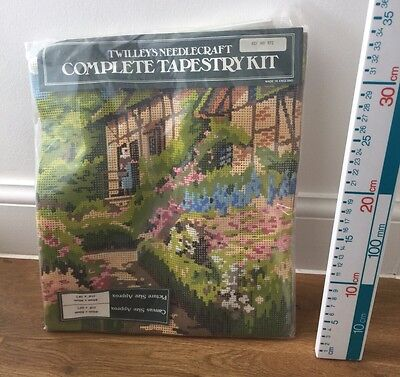 Twilleys English Cottage  Scene Tapestry Collection Kit