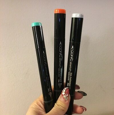 SET OF THREE 25th ANNIVERSARY LIMITED EDITION COPIC MARKERS SET 1