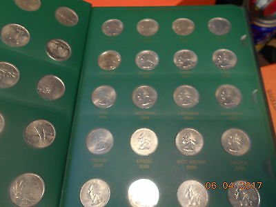 50 US State Quarters Complete Circulated Set 1999-2008