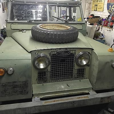 Land Rover Series 2A 1962 Barn Fined Left Hand Drive