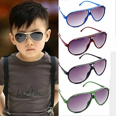 Up Stylish Child Kids Boys Girls Aviator UV400 Sunglasses Shades Baby Goggles