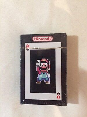 Nintendo All Star Playing Cards New And Sealed Very Rare