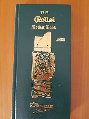 Rollei Pocket Book  Tlr  A. Derqui  -  Manuale Completo Con Tutte Le Rolleiflex
