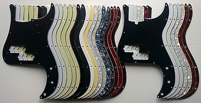 Precision Bass B Grade Pickguard fits US scratchplate - various colours