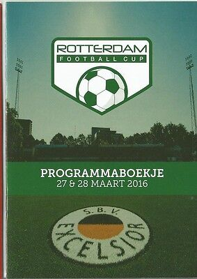 ROTTERDAM FOOTBALL CUP 2016 Inc CHELSEA NORTHERN IRELAND  A5 sized issue