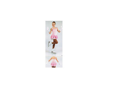 New Competition Figure Skating Dress Xpression XP1613 Barbe à papa