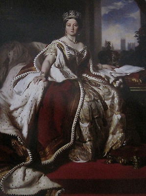Queen Victoria Portrait from Famous Painting Post Card