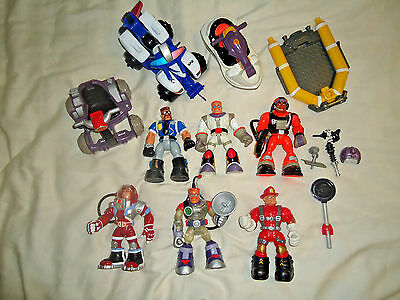 Fisher  Price  Rescue  Heroes  Lot -  Vehicles,  Rescue  Heroes,  Etc