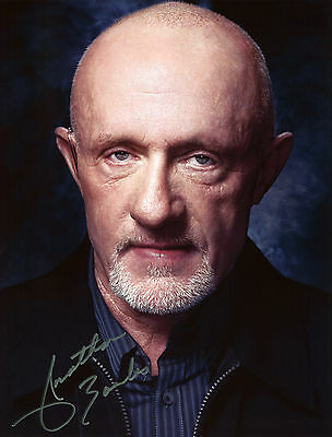 Jonathan Banks - Mike Ehrmantraut - Breaking Bad - Signed Autograph REPRINT
