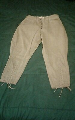Wwi Us Army Calvary Uniform Khaki Cotton Breeches Pants.  Wieczorek