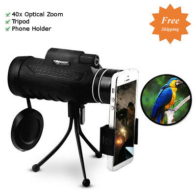 PANDA 40X60 HD Monocular Night Vision Optical Lens 40x Zoom Outdoor Telescope