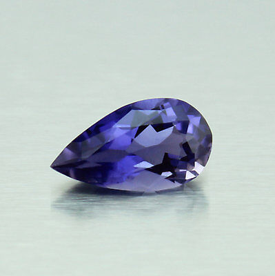 AAA Quality 3.50 Cts. Natural Iolite Pear Faceted FLAWLESS violet Loose Gemstone
