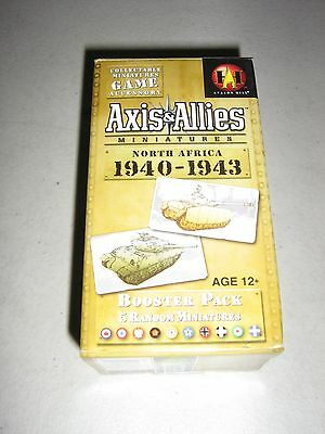 Axis & Allies Miniatures: North Africa 1940-1943 Booster (New)