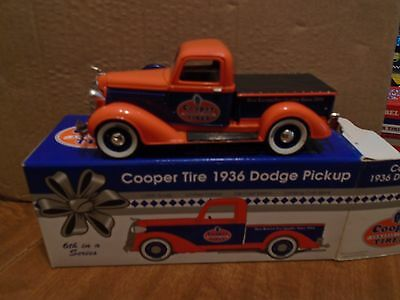 Cooper Tires 1936 Dodge PickUp  Truck Bank Spec Cast STock # 72011 1/25th LE