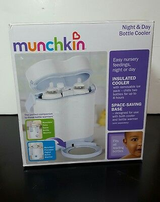 Munchkin Night and Day Bottle Cooler NIB Insulated Cooler Removable Ice Pack