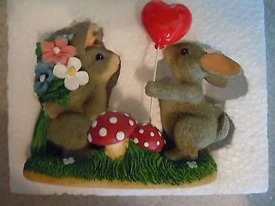 Charming Tails Love is in the Air FITZ & FLOYD 84/100 NIB