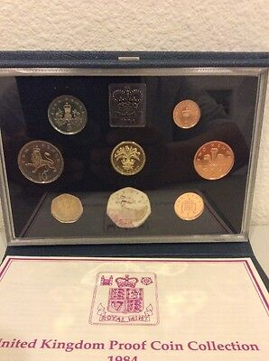 1984 Great Britain / Uk - Prestige Proof Set (8) - Beauty!