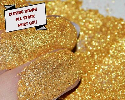 Flash Glitter Gold Synthetic Mica 10g Nail Art Crafts Soaps Mixed Media Art Etc