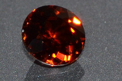 Gorgeous 1.67ct IF NATURAL Round CUT CAMBODIAN Reddish Brown ZIRCON