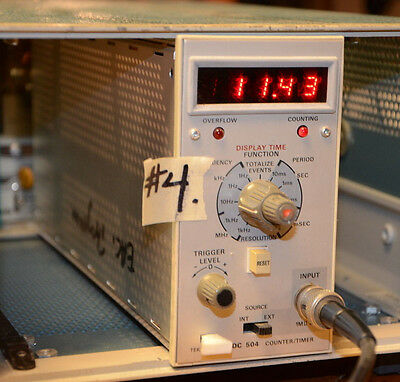 TESTED 80MHz TEKTRONIX DC504 FREQUENCY COUNTER TIMER METER FITS TM503 #4