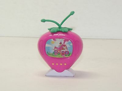 Cute Strawberry Shortcake Pink Toy TV SCENTED!