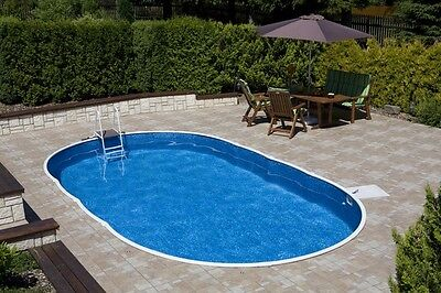 ABOVE GROUND SWIMMING Pool Kit full package 18ft x 12ft x ...