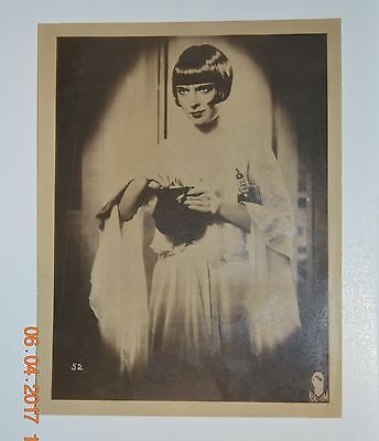 Louise Brooks Vintage Important Photograph Pandora's Box 1929 Rare Iconic Role