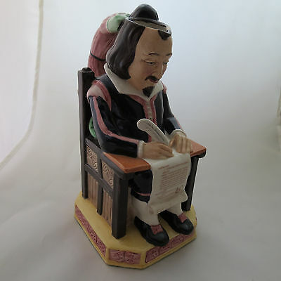 Kevin Francis WILLIAM SHAKESPEARE Figurine Character Toby Jugs British №212