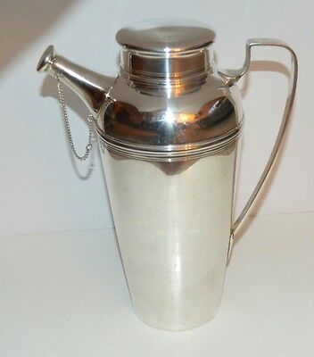 Antique Tiffany & Co.  Sterling Silver 3 Pint Cocktail Shaker