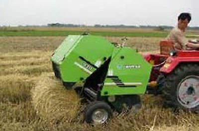 ROUND HAY BALER suit PTO Tractor 25-50HP 700mm width for quality hays packing
