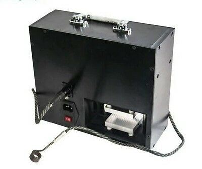NEW STYLE G9 Electric Pneumatic Heated Rosin Press Dual Heat Plates + Enail coil