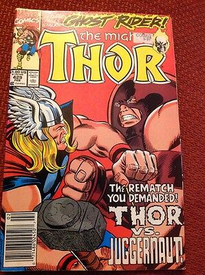 The Mighty Thor comic Classic Rate #429 Ghost Rider Juggernaught