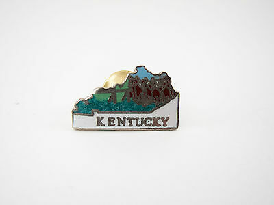 Vintage Kentucky Travel Souvenir Pin
