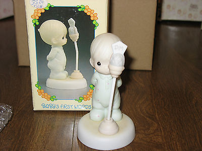 Precious Moments Baby's First Words 527238  Figurine