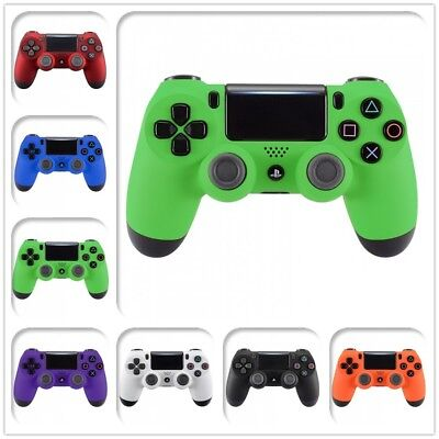 Custom Soft Touch Front Shell Cover for PS4 Pro Slim Remote Controller JDM-040