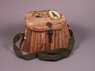 Vintage Wooden Fishing Creel - Hand Made - Room Decoration or Put it to Good Use